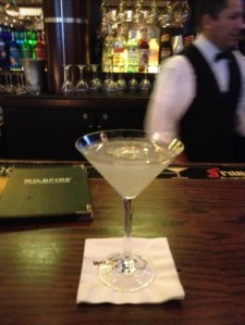 pineapple vodka martini at Capitol Grill