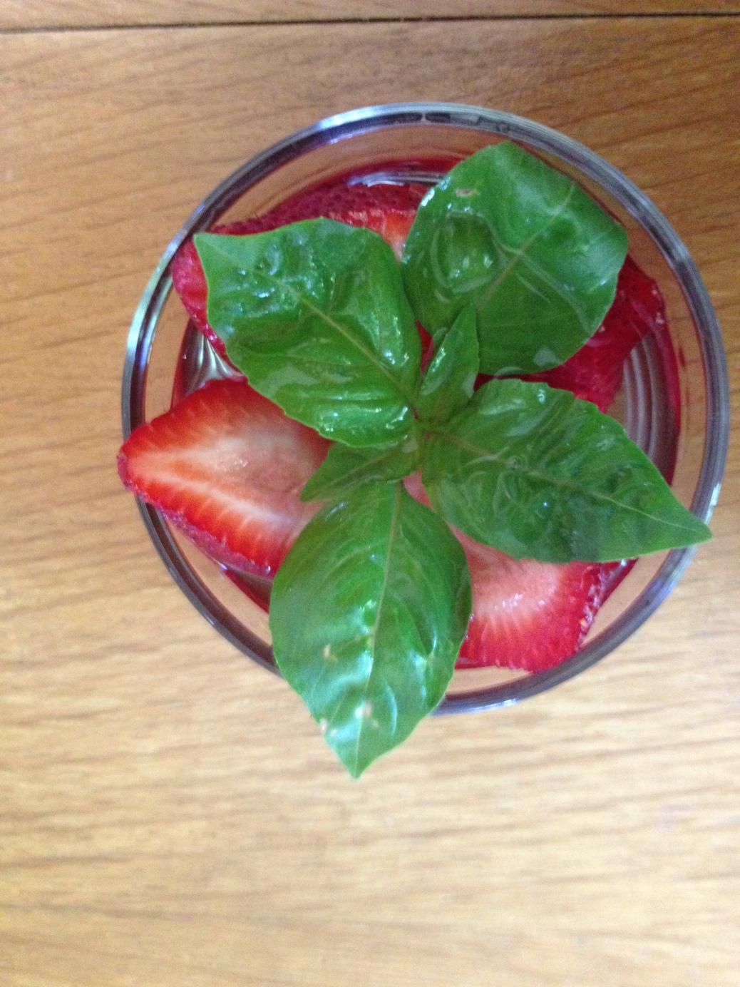 strawberry basil vodka