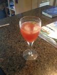 cherry serrano sparkler