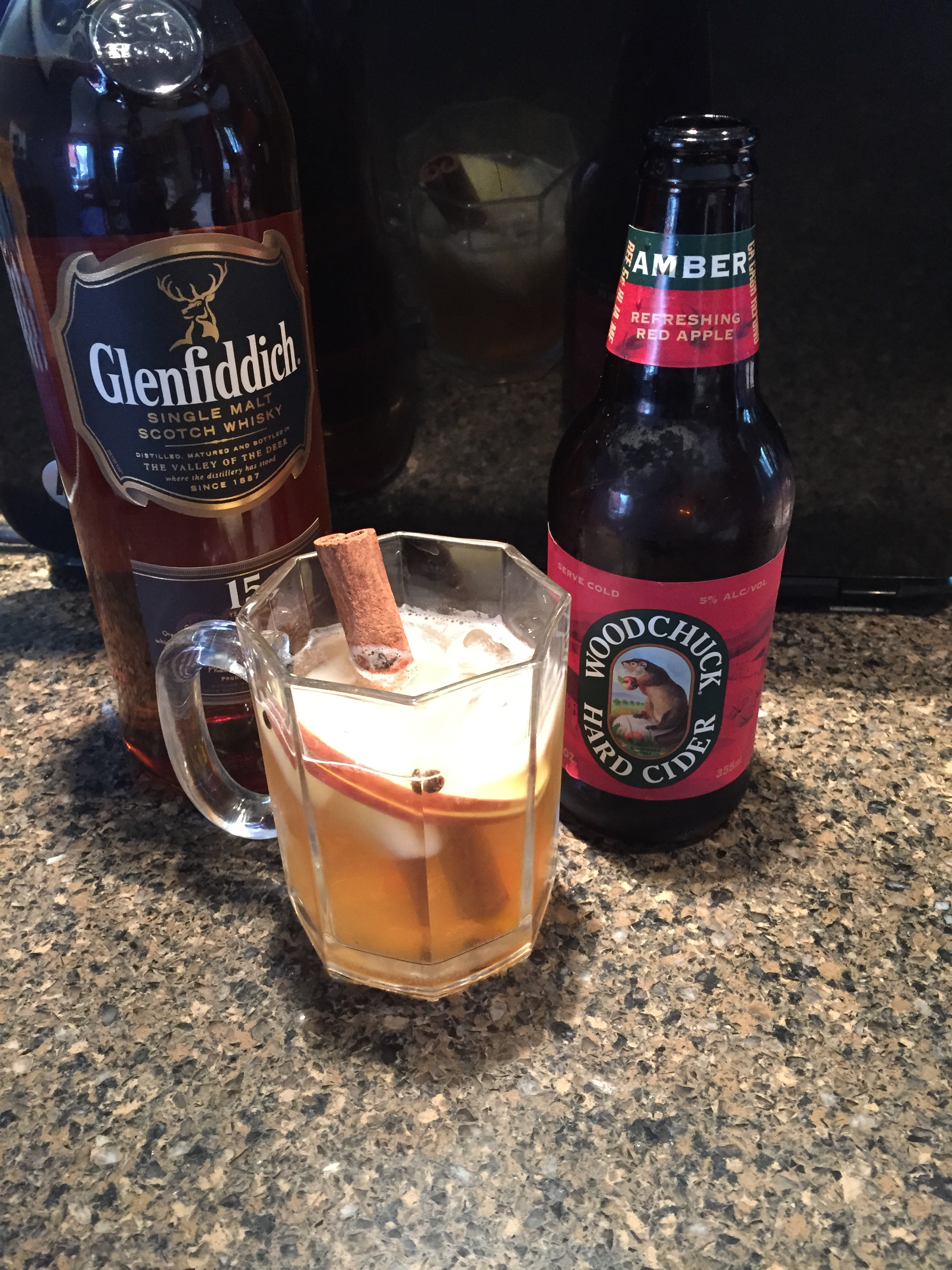 scotch  hard apple cider