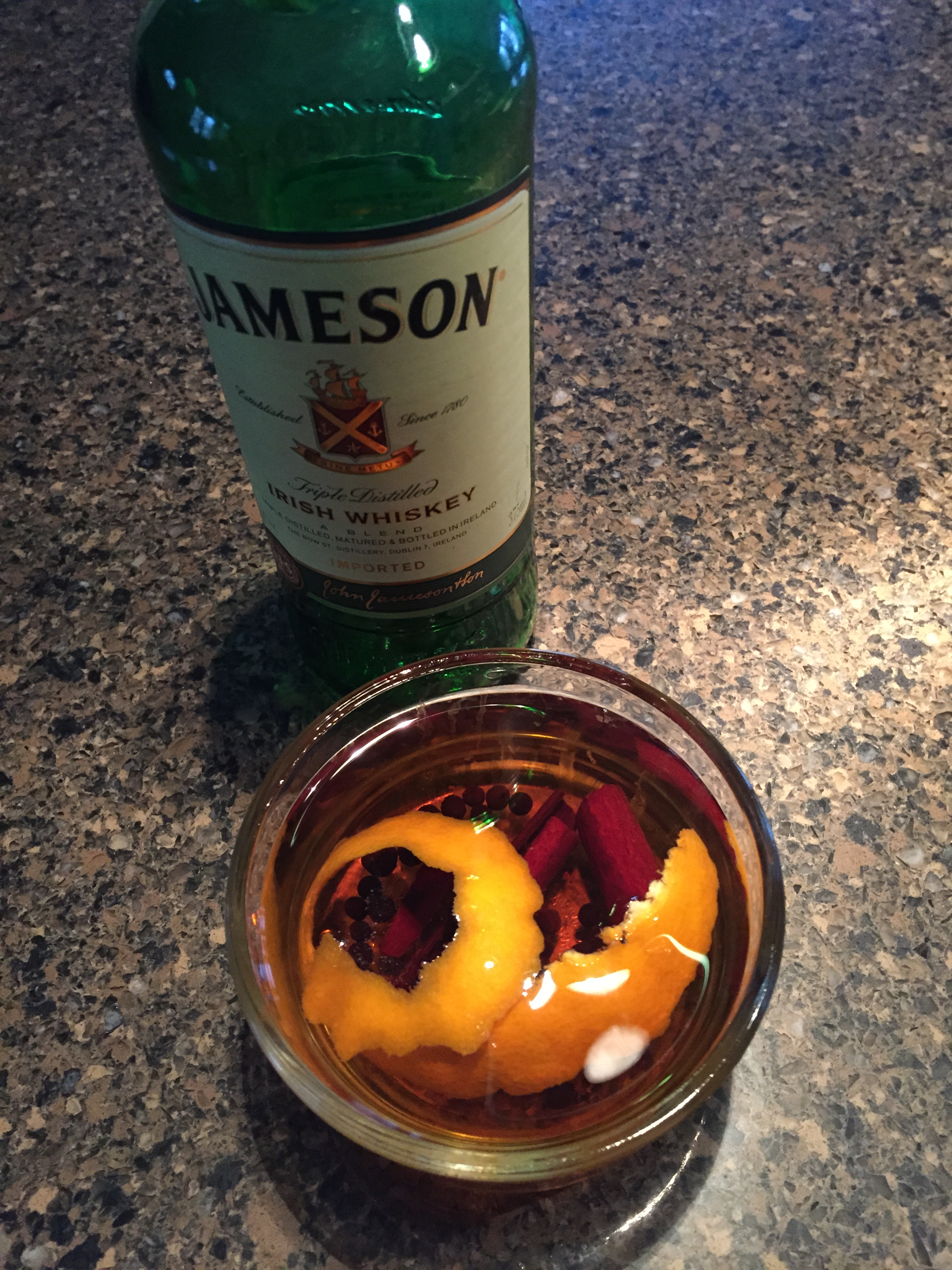 infused whiskey